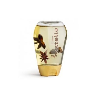 Miele di acacia e Anice stellato - squeezer 250 gr - LA STELLA