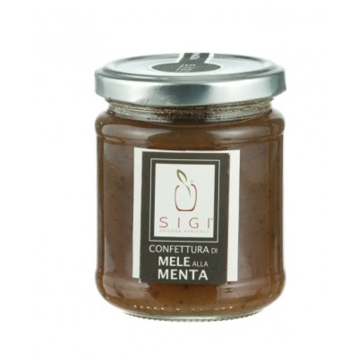 Apple and Mint Jam