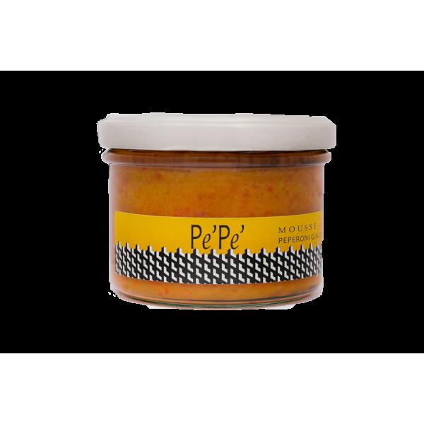 Mousse di peperoni in agrodolce - Pèpè